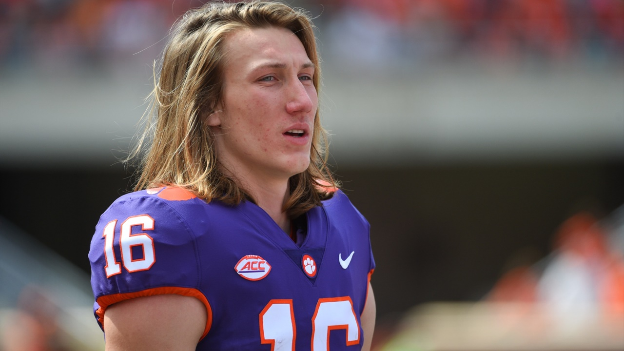 Too much pressure? Clemson's Trevor Lawrence listed near ...