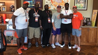 Which Clemson football 2019 commits had a good weekend?