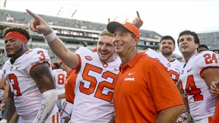 No-official spring visits, no problem: Swinney compares recruiting to marriage