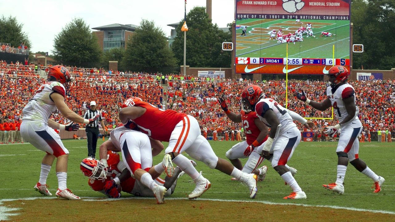Syracuse Football Clemson Talk | Sports vs. Clemson Highlights