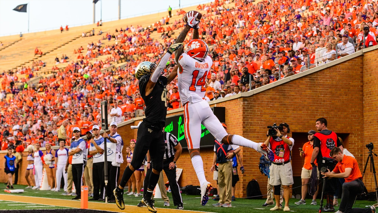 Clemson Wake Forest Game Time Announced Clemson Sports Talk