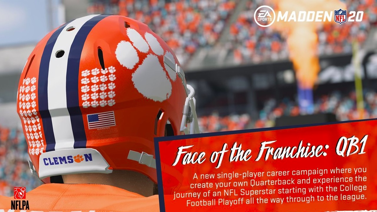 Clemson Football to be featured in Madden 20 | Clemson ...