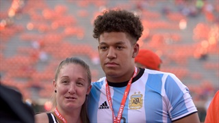 """Three-star Virginia recruit had a """"great experience"""" during Saturday's visit"""