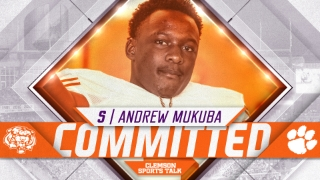 "BREAKING: ""I'm headed to Tiger Town."" Andrew Mukuba breaks down commitment to Clemson"