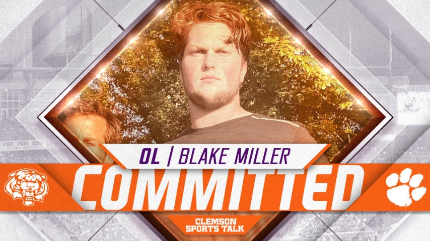 Clemson lands commitment from four-star Ohio offensive line prospect