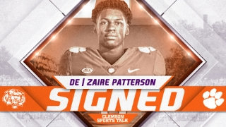 Explosive four-star defensive end Zaire Patterson signs with Tigers
