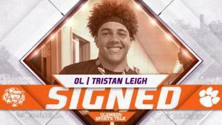 BREAKING: Clemson adds five-star offensive lineman Tristan Leigh