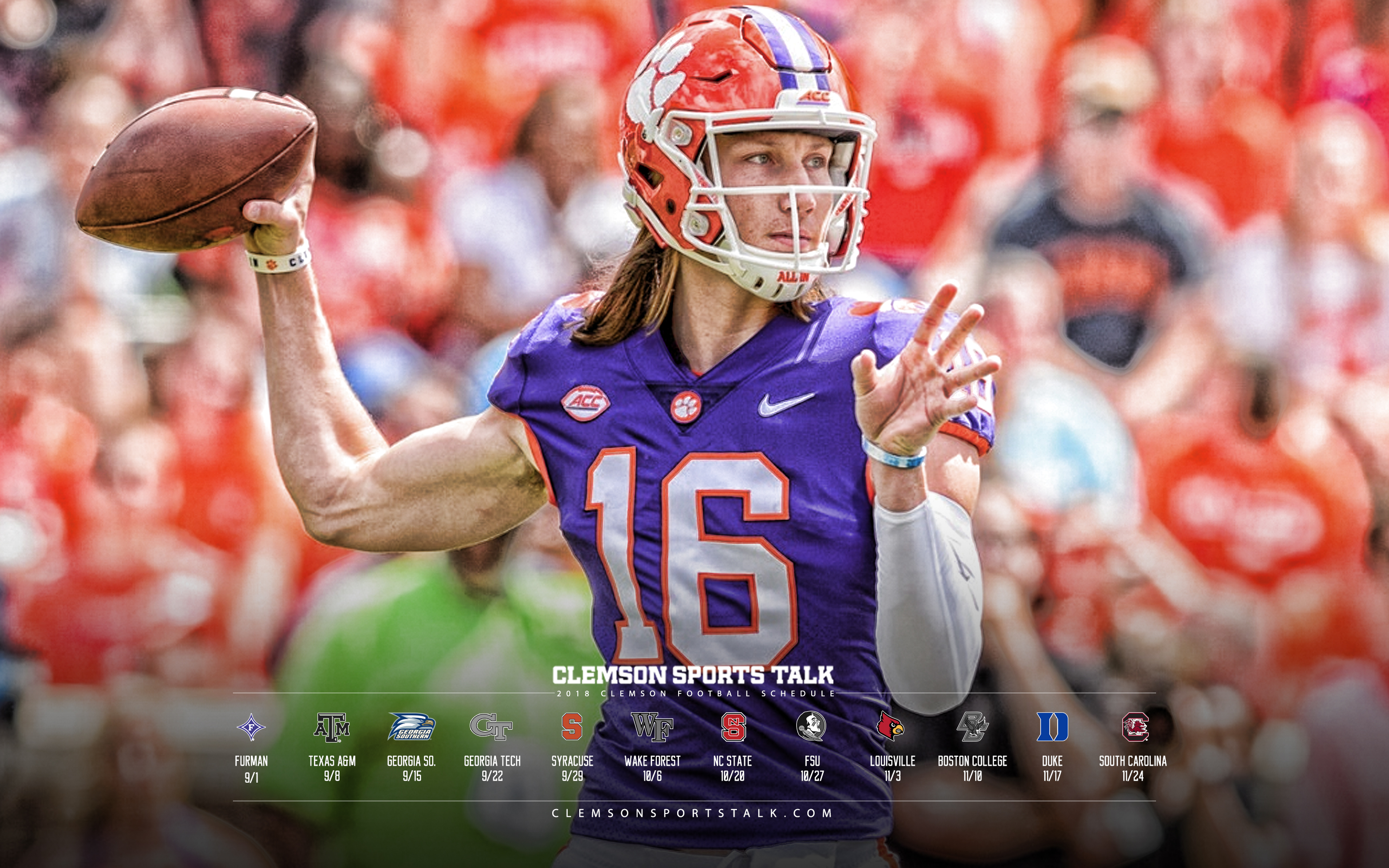 2018 Clemson Football Wallpapers Clemson Sports Talk