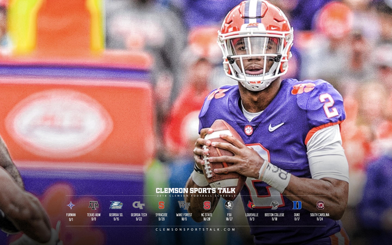 2018 Clemson Football Wallpapers Clemson Sports Talk