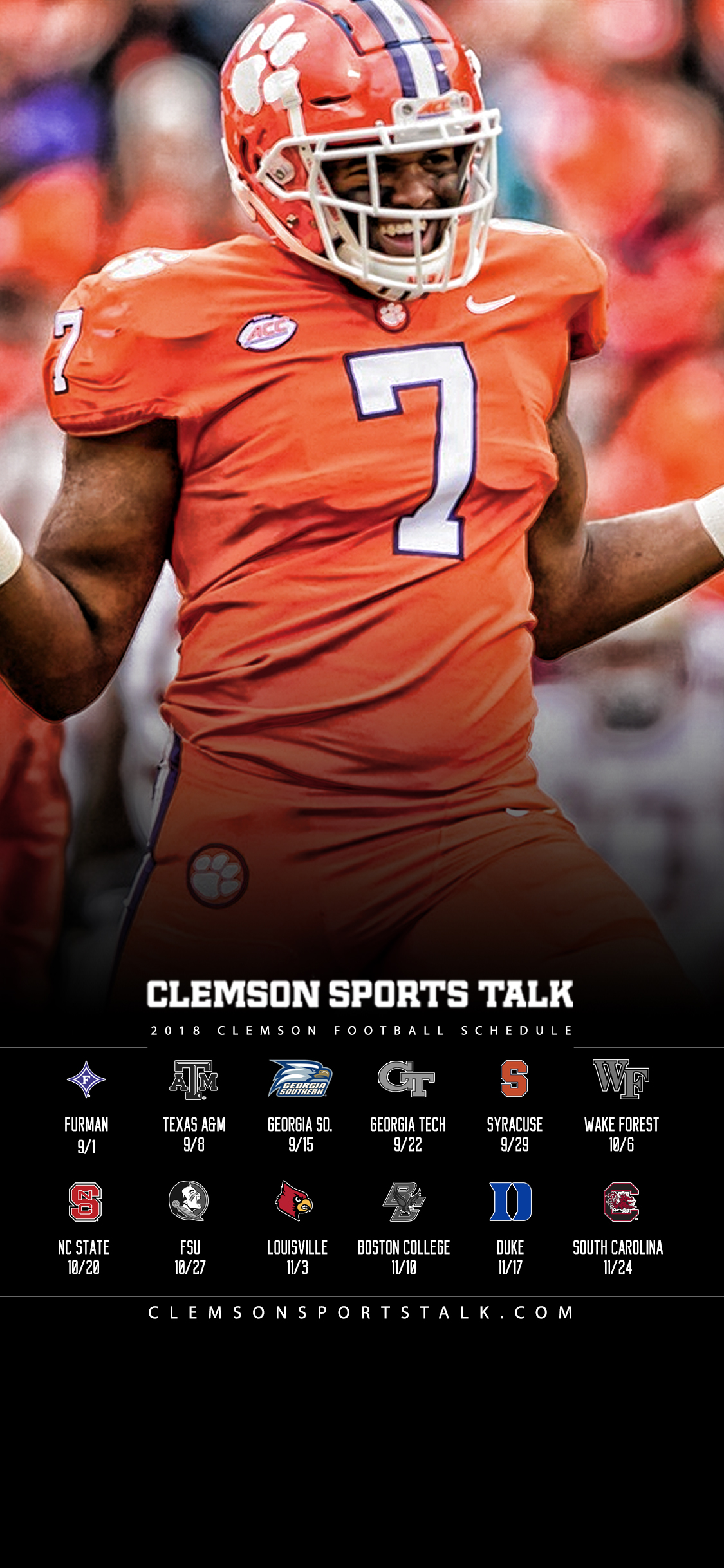 Sports 2018 Talk Clemson Clemson Wallpapers | Football